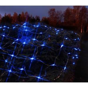 Svietiaca dekorácia Light Network Blue/Black, 3 m