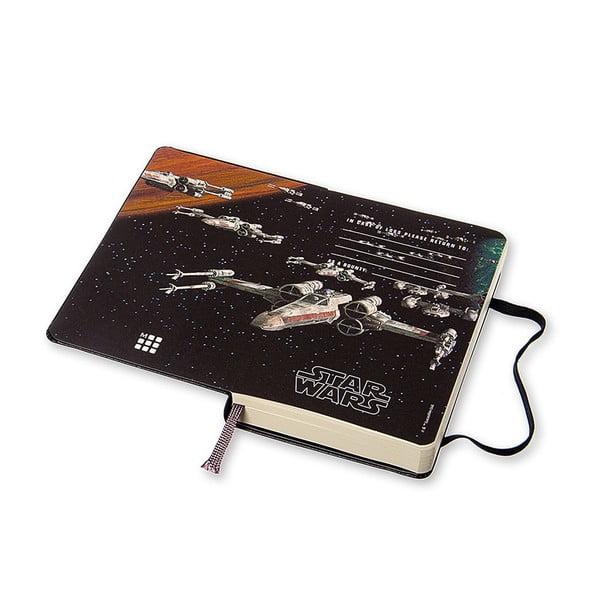 Denný diár Moleskine Stars Wars, 9x14 cm