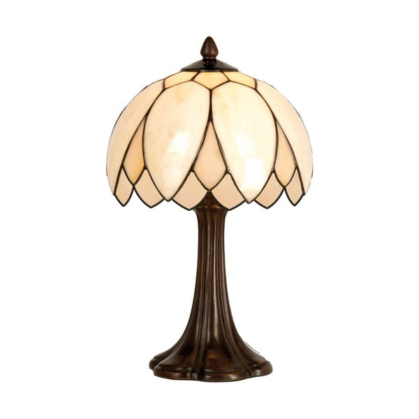Tiffany stolová lampa Pearl Flower