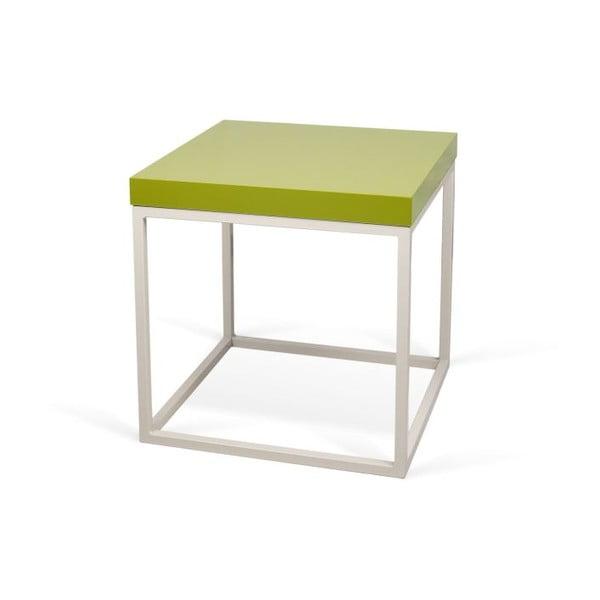 Odkladací stolík so zelenou doskou TemaHome Prairie