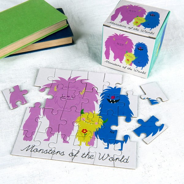 24-dielne puzzle Rex London Monsters Of The World