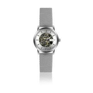 Dámske hodinky s antikoro remienkom v striebornej farbe Walter Bach Mulio