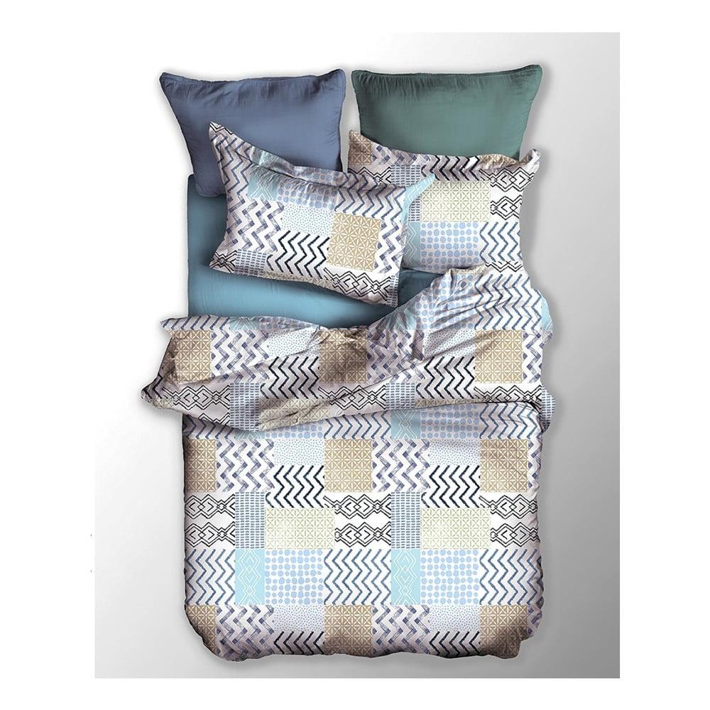 Obliečky na dvojlôžko z mikrovlákna DecoKing Muster, 200 x 220 cm