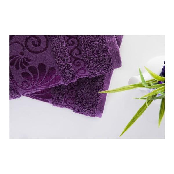 Sada 2 uterákov Carmen Purple, 50x90 cm