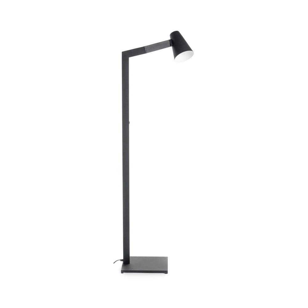 Čierna stojacia lampa Design Twist Fahy