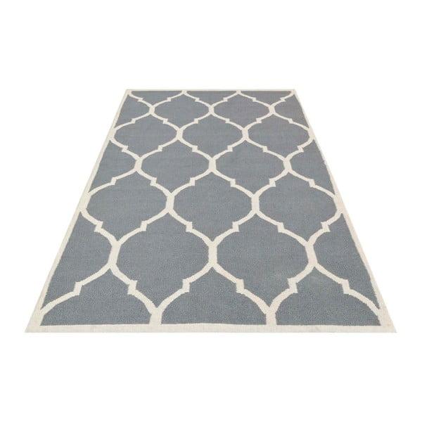Ručne tkaný koberec Lara Grey, 60 x 90 cm