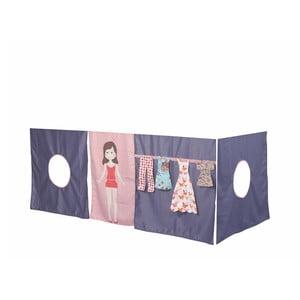 Záves pod detskú posteľ Manis-h Doll