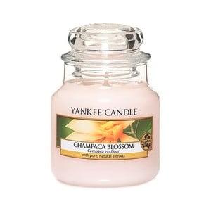 Vonná sviečka Yankee Candle Kvet Magnólie Champaca, doba horenia 25 - 40 hodín