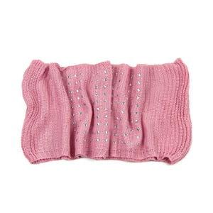 Kruhový šál Mia Pink