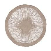 Hnedá podložka na stôl Côté Table Soleil Taupe, 38 cm