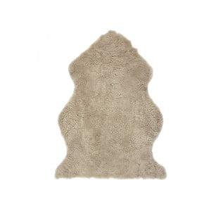 Svetlohnedý vlnený koberec z ovčej kožušiny Auskin Faol, 90 x 60 cm