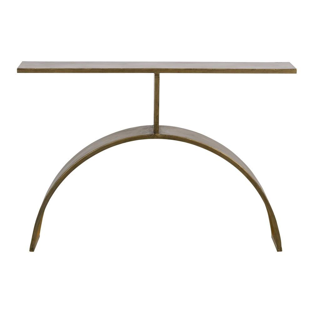 Odkladací stolík v zlatej farbe BePureHome Altar