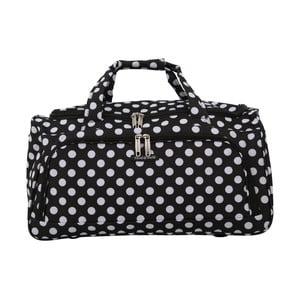 Čierna príručná batožina Travel World, 36 l