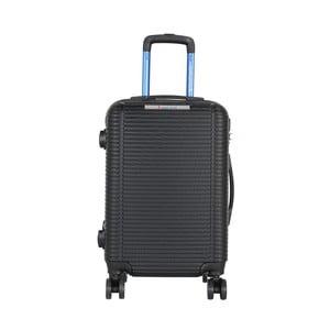 Tmavosivá príručná batožina na kolieskach Travel World