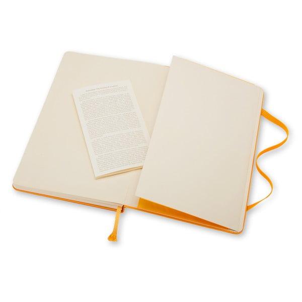Žltý zápisník Moleskine Hard, malý