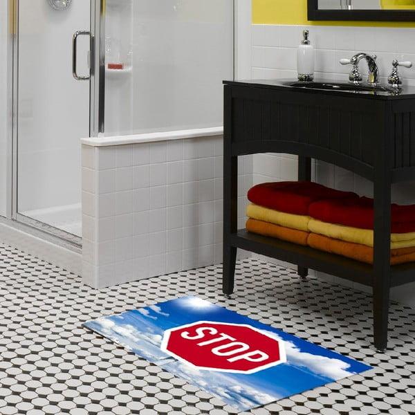 Vinylový koberec Stop, 52x75 cm