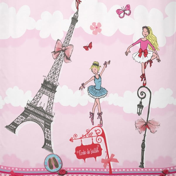 Bavlnené obliečky Cinderella Ballerina Girl, 140x200cm