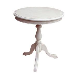 Drevený okrúhly stôl Vintage, 60x65x60 cm