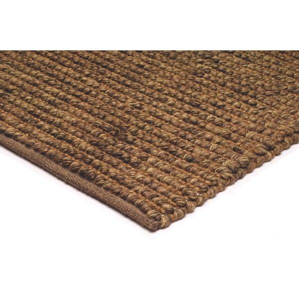 Jutový koberec Jute Loop Brown, 160x230 cm