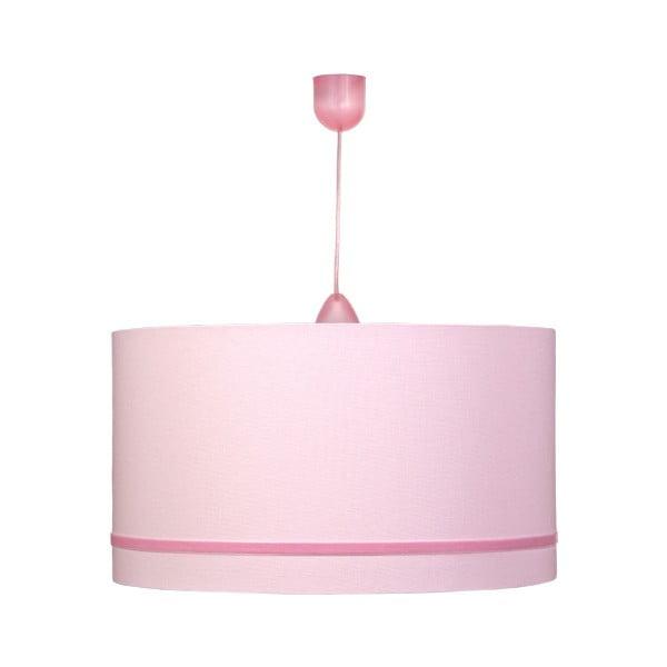 Závesné svietidlo Gold Inside Pink Velve
