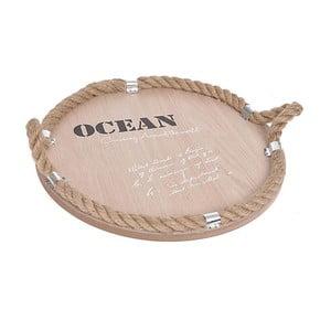 Drevená tácka Ocean, prírodná