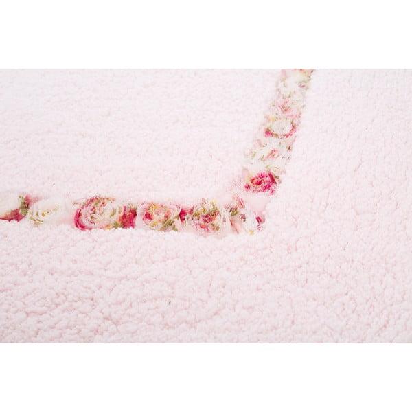 Kúpeľňová predložka Frenésie Pink, 65x80 cm