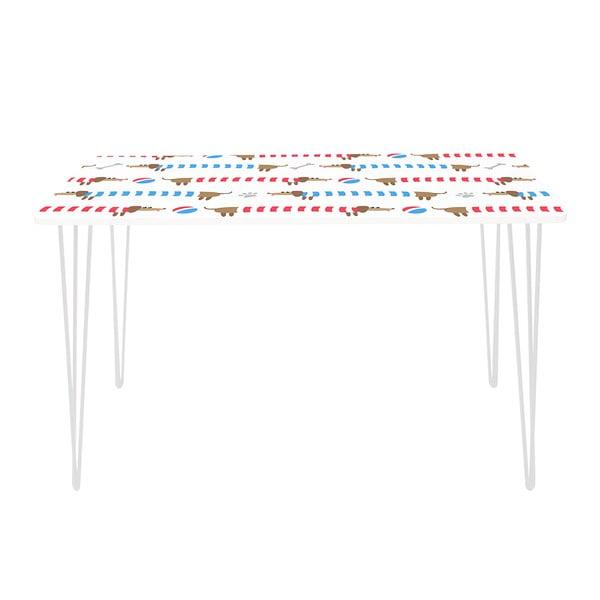 Pracovný stôl Long Dachshund