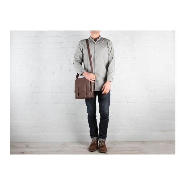 Kožená taška Postie Natural Vintage
