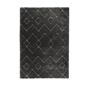 Tmavosivý koberec Flair Rugs Imari, 80×150 cm
