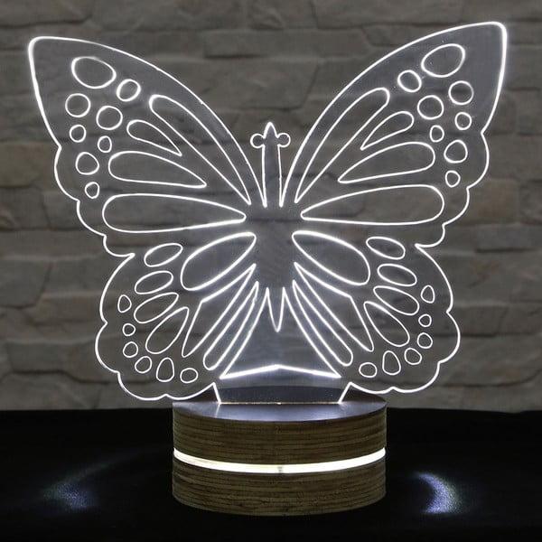 3D stolová lampa Butterfly