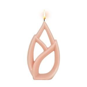 Ružová sviečka Alusi Livia Petit, 2,5 hodíny horenia
