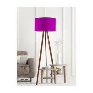 Fialová stojacia lampa Simple