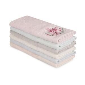 Sada 6 bavlnených uterákov Nakis Lucillo, 30×50 cm