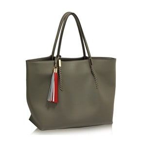 Sivá kabelka L & S Bags Print