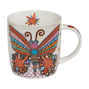 Porcelánový hrnček Maxwell & Williams Smile Style Flutter, 400 ml