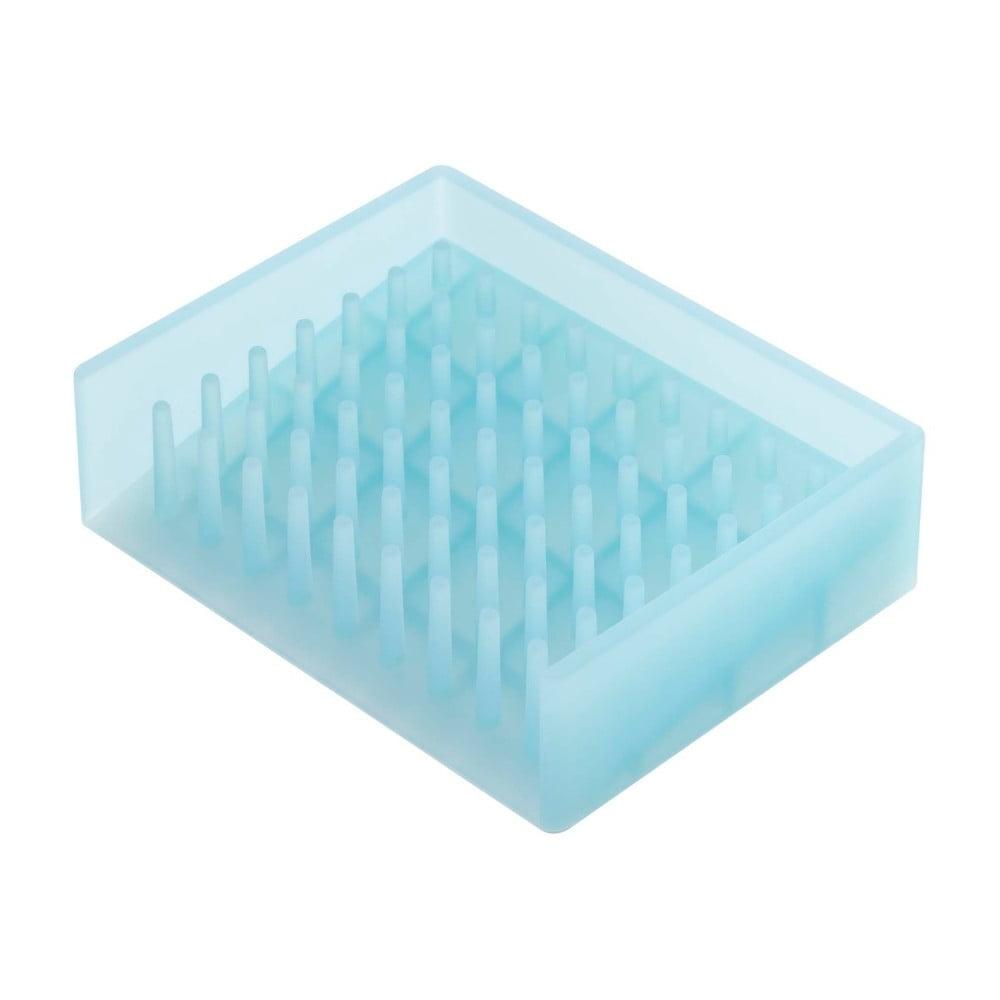 Modrá podložka pod mydlo YAMAZAKI Float