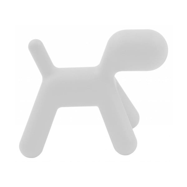 Biela stolička Magis Puppy, dĺžka 70cm