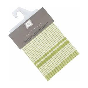 Sada 6 zelených bavlnených utierok Tiseco Home Studio Cristal, 50 × 70 cm