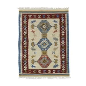 Ručne tkaný koberec Bakero Kilim Classic AK05 Mix, 75 x 125 cm