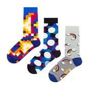 Darčeková sada ponožiek Ballonet Socks Bubbles, veľkosť 41-46