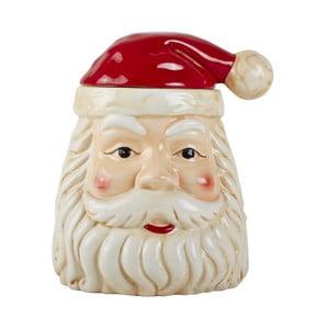 Keramická dekoratívna soška Santa Clausa KJ Collection, 27,5 cm