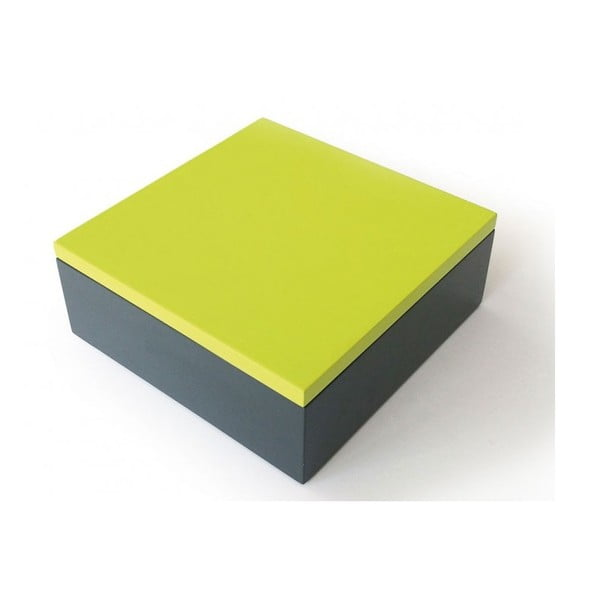 Drevený box Remember Green