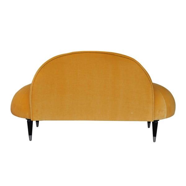 Pohovka Beetle, žltá
