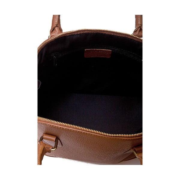Kožená kabelka Giorgio Costa 15021 Cognac