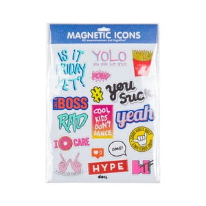 Magnety Icons Blue
