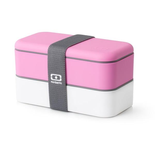 Ružový obedový box Monbento