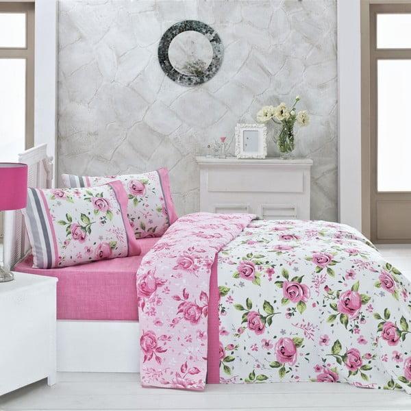 Bavlnený ľahký pléd na posteľ Asli, 200×230 cm