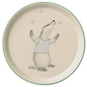 Detský kameninový tanier Bloomingville Marius, ⌀ 20 cm