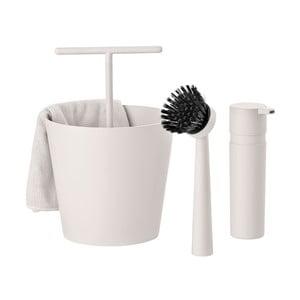 Sada na umývanie riadu Bucket, svetlo šedá