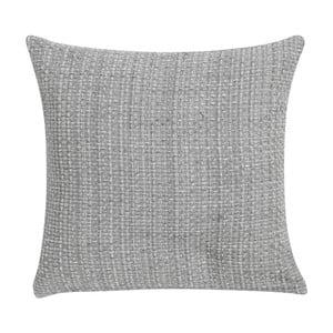 Sivý vankúš Blyco Basket Weawe, 45 x 45 cm
